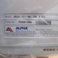 ALPHA ROBOT AR200-PL1-450-75B-N
