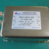 NOISE FILTER IWK3-25075-2NF(중고)