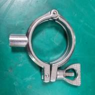 SANITARY TRI CLOVER CLAMP 50A (미사용중고)