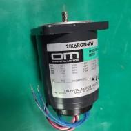 (미사용품)ORIENTAL SPEED CONTROL MOTOR 2IK6RGN-AW 오리엔탈 스피드콘트롤 모타