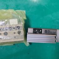 (A급-미사용) SMC TABLE CYLINDER MXQ8L-10AS 테이블 실린더